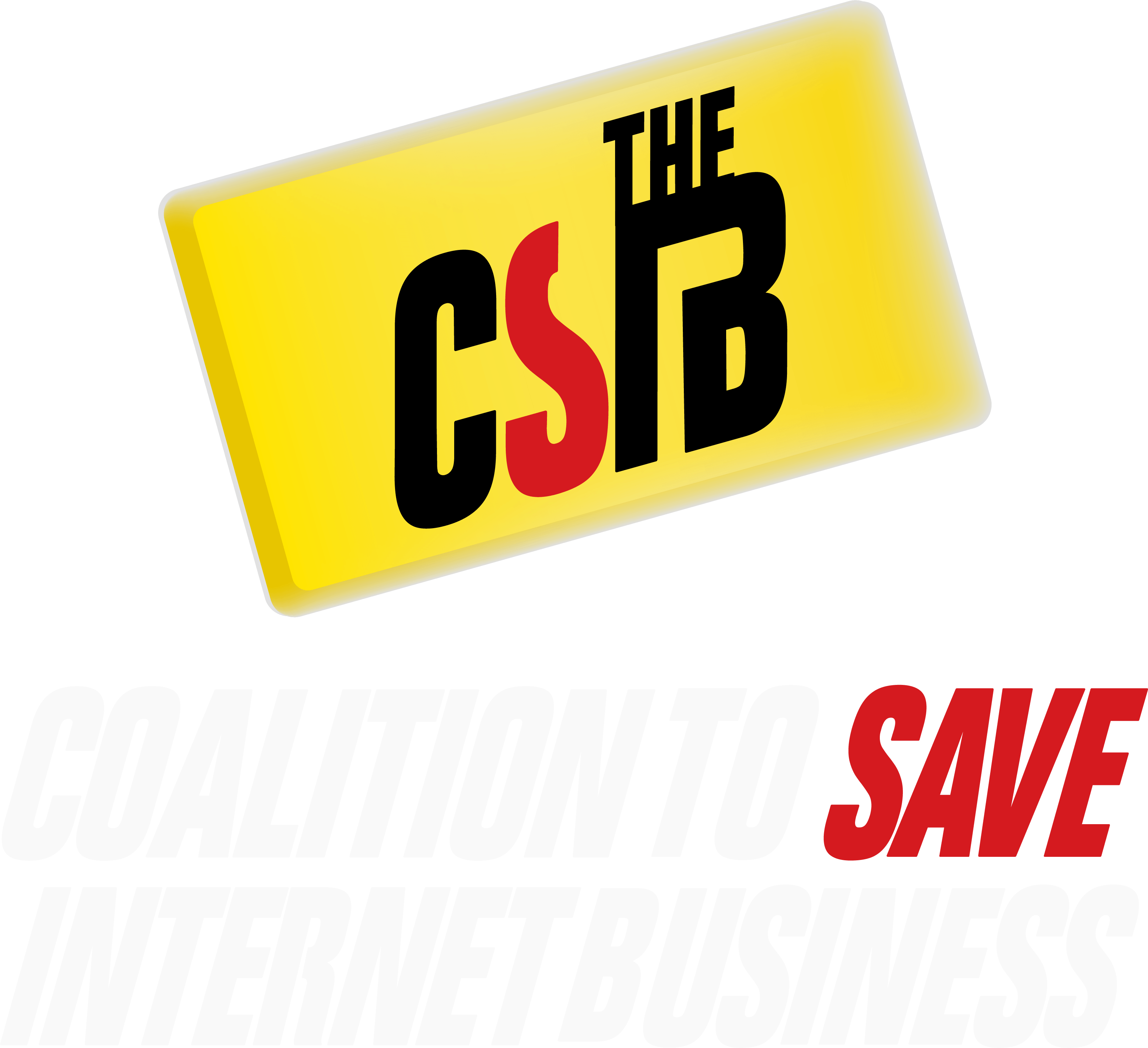 logo for the Coalition to Save Internet Business